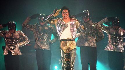 Foto de Michael Jackson en concierto