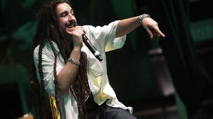 Foto de Morodo en concierto