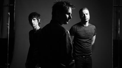 Foto de Muse en blanco y negro