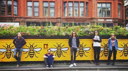 Los miembros de My Expansive Awareness en Manchester