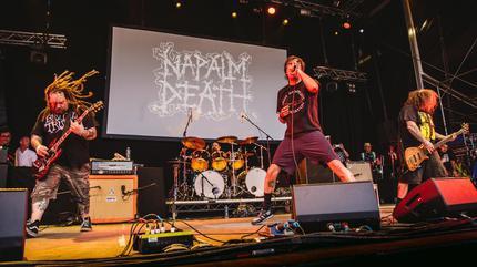Foto de Napalm Death en concierto