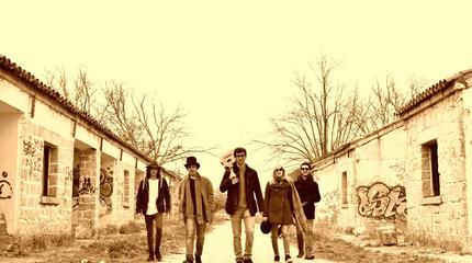 Miembros de la banda madrileña Nebraska