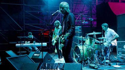 La banda Neuman en concierto.