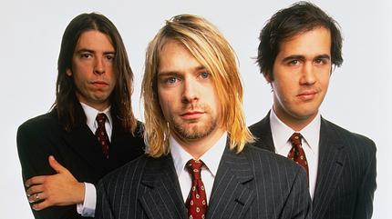 Foto de Nirvana en traje