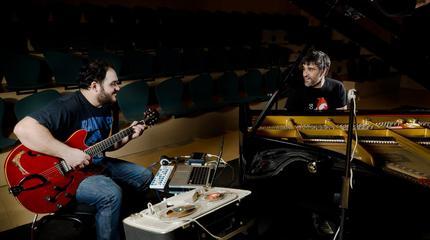Fede Trillo y David Bueno, componentes de Noesbueno