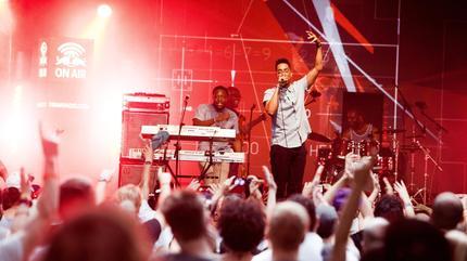 Foto de Oddisee en concierto