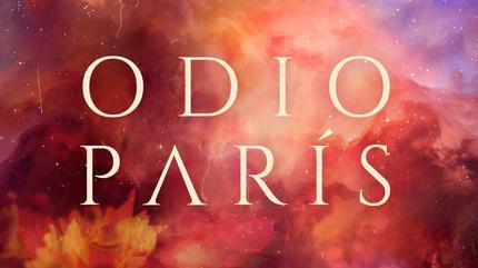 Portada álbum Odio París