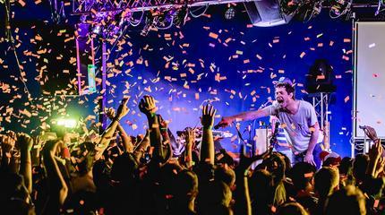 Foto de OK Go en concierto