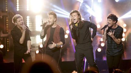 Foto de One Direction en concierto