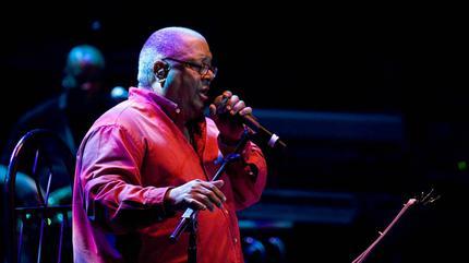Foto de Pablo Milanés en concierto