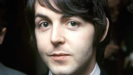 Foto del músico fundador de los Beatles Paul McCartney