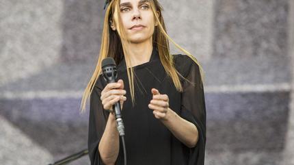 Foto de PJ Harvey en concierto