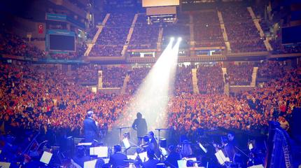 Foto de Raphael en concierto