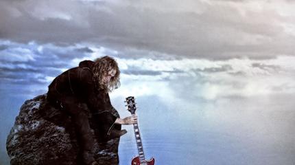 Foto Robe guitarra en el agua
