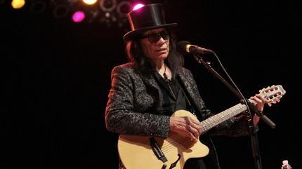 Foto de Rodriguez en concierto