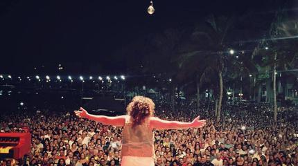 Foto de Rosana en concierto