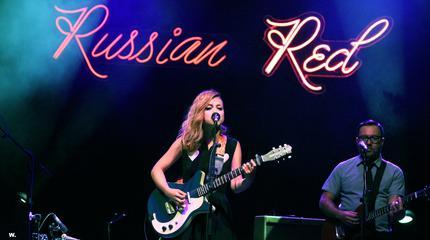 Foto de Russian Red en concierto