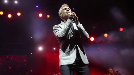 Foto de Sergio Dalma en concierto
