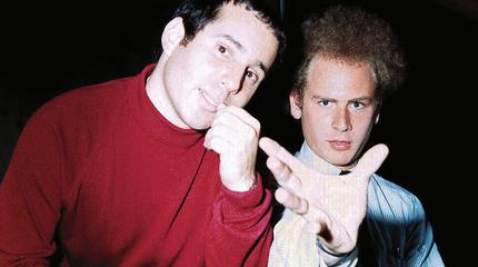 Foto del duo estadounidense de folk pop Simon & Garfunkel