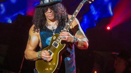 Foto de Slash en concierto