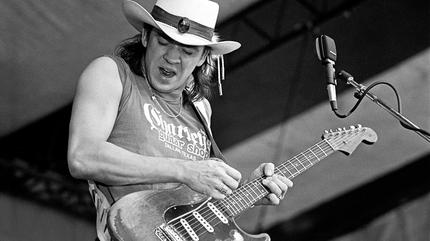 Foto de Stevie Ray Vaughan