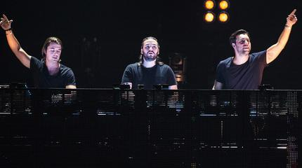 Foto de Swedish House Mafia en sesión