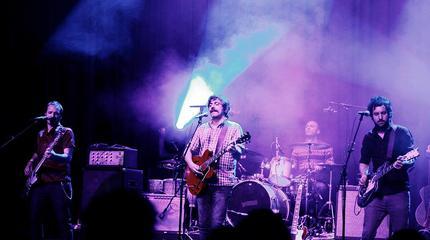 Foto de Tachenko en concierto