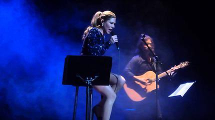 Foto de Tamara en concierto