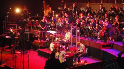 Foto de The Cinematic Orchestra en concierto