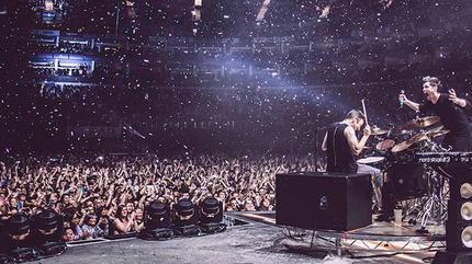 Foto de The Script en concierto