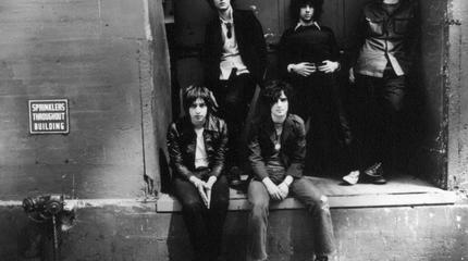 Foto de The Strokes en blanco y negro