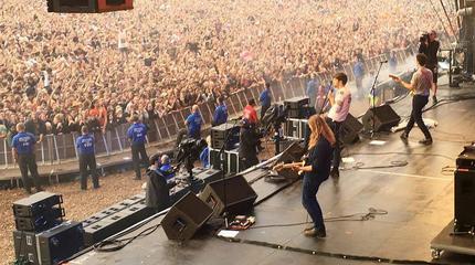 Foto de The Vaccines en concierto
