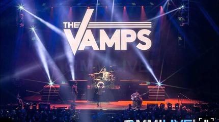 Foto de The Vamps en concierto