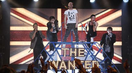 Foto de The Wanted en concierto