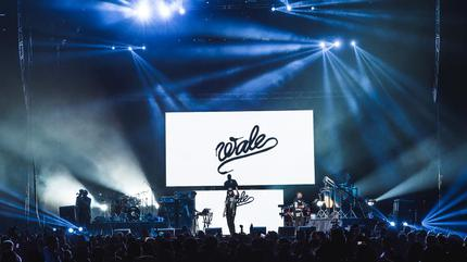 Foto de Wale en concierto