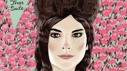 Retrato dibujo de Whitney Rose