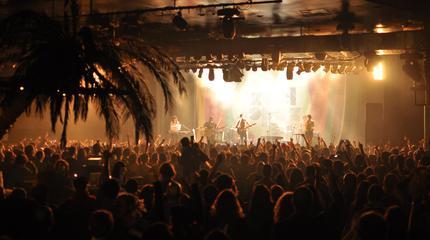 Foto de Xoel López en concierto