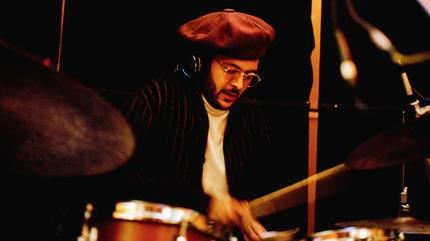 Yussef Dayes on drums - Abbey Road Recording