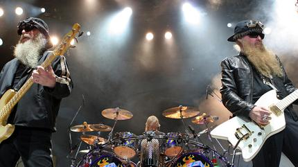 Foto de ZZ Top en concierto