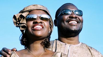 Amadou & Mariam concert in Groningen
