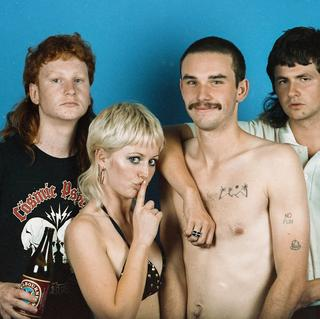 Amyl and the Sniffers concerto a Manchester