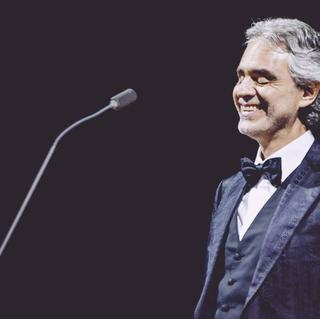 Konzert von Andrea Bocelli in Hollywood