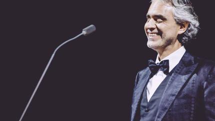 Concierto de Andrea Bocelli en París