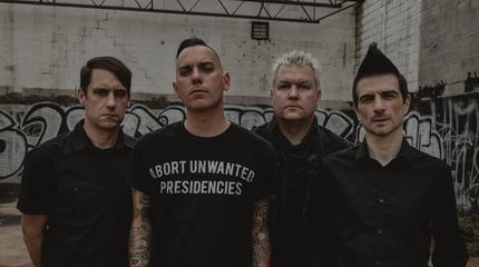 Anti-Flag concert in Buffalo