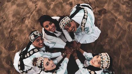 Concierto de Asmaa Hamzaoui & Bnat Timbouktou en Valencia