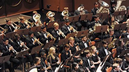 Concierto de ASU Wind Symphony en Tempe