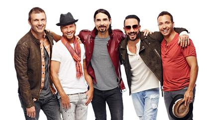 Backstreet Boys in concerto a Mansfield