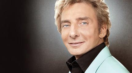 Barry Manilow concert in London