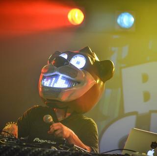 Bear Grillz concert in Houston