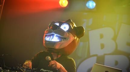Bear Grillz concert in Edmonton